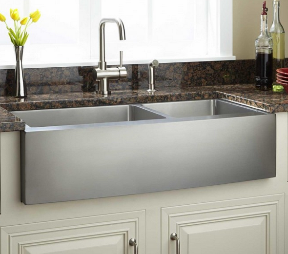 Stainless Farmhouse Sink Y